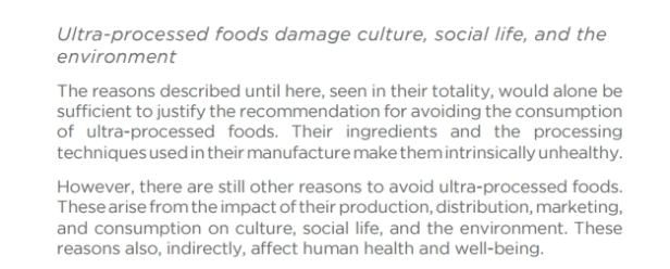 ¿Veran nuestros nietos que esto se incluya en las recomendaciones nutricionales de España?